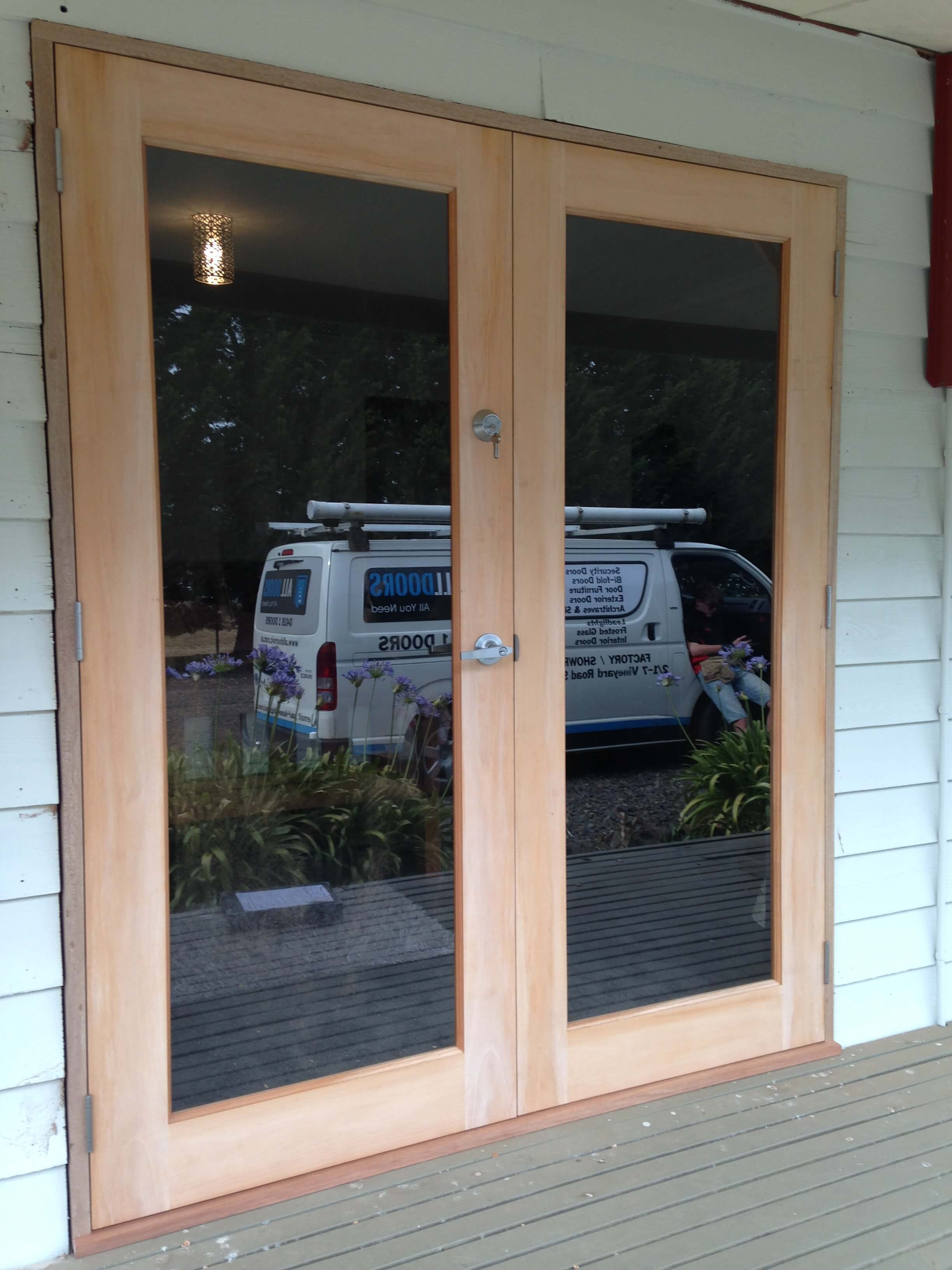 Low cost exterior french doors interior door panels - Soundproof french doors exterior ...