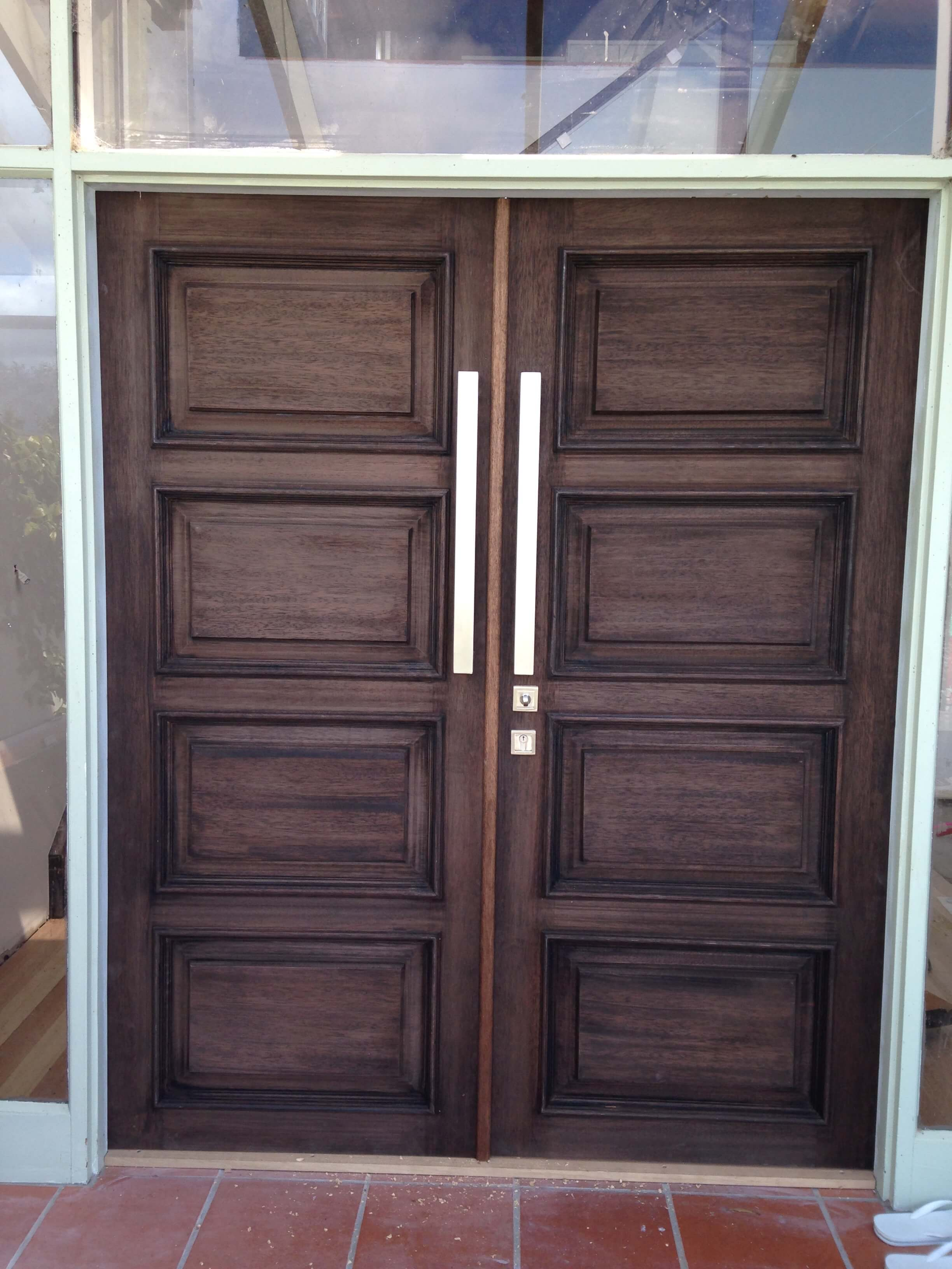 solid ... & solid external doors bunnings - 28 images - oak front door frame ...